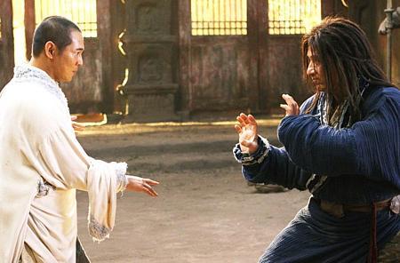 Jet Li ja Jackie Chan.