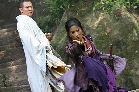 Jet Li ja Yifei Liu.