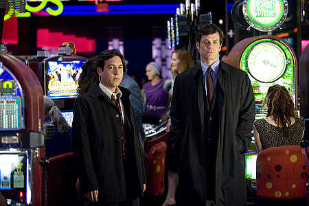 Chris Marquette, Tom Everett Scott