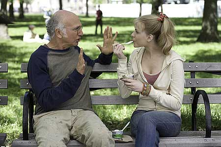 Larry David ja Evan Rachel Wood