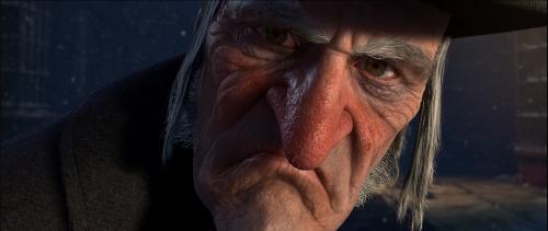 Ebenezer Scrooge (Jim Carrey)