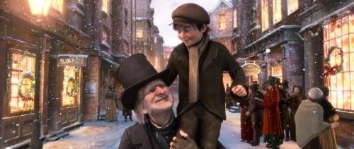Ebenezer Scrooge ja Pikku Tim (Gary Oldman)