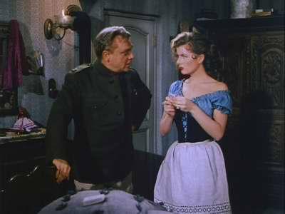 James Cagney ja Corinne Calvet