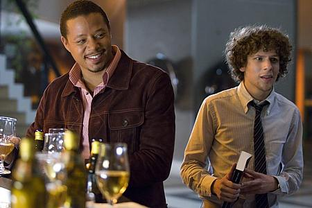 Terrence Howard ja Jesse Eisenberg.