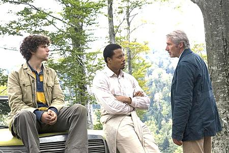 Jesse Eisenberg, Terrence Howard ja Richard Gere.