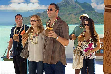 Jon Favreau, Malin Akerman, Vince Vaughn, Faizon Love ja Kristin Davis