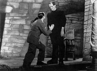 Colin Clive ja Boris Karloff