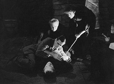Edward Van Sloan ja Boris Karloff