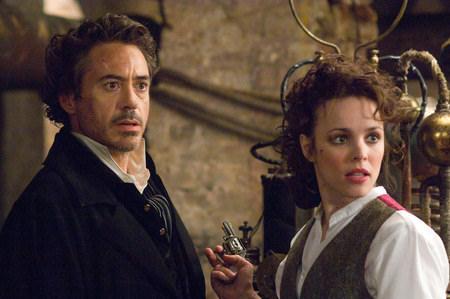 Robert Downey Jr. ja Rachel McAdams