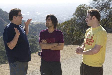 Jonah Hill, Jason Schwartzman ja Seth Rogen