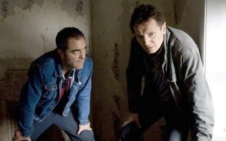 James Nesbitt ja Liam Neeson