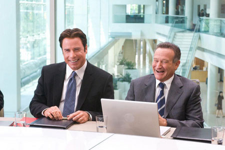 John Travolta ja Robin Williams