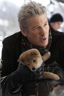 Richard Gere ja Forest-koira pienenä