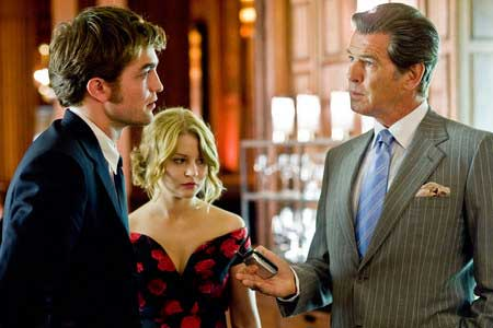 Robert Pattinson, Emilie de Ravin ja Pierce Brosnan