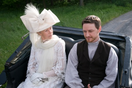 Helen Mirren ja James McAvoy