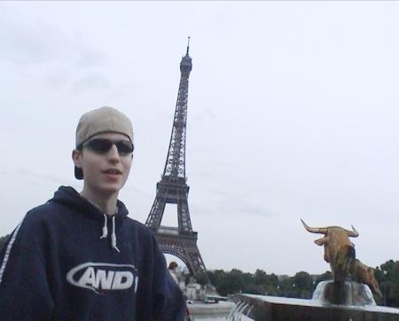 Jani ja Eiffel-torni
