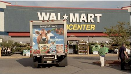 Walmart ostaa luomua.