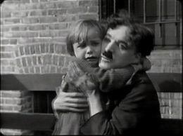 Jackie Coogan ja Charlie Chaplin