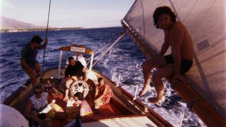 Morrison ja ystävät purjehtimassa
