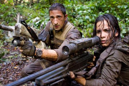 Adrien Brody ja Alice Braga