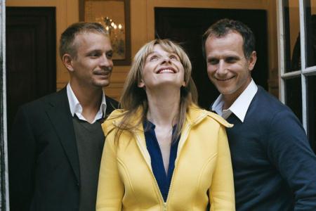 Charles Berling, Juliette Binoche ja Jérémie Renier