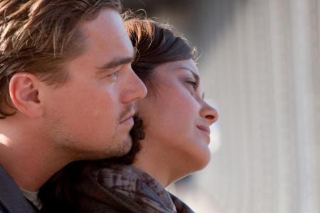 Leonardo DiCaprio ja Marion Cotillard