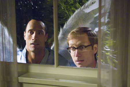 Dwayne Johnson ja Stephen Merchant