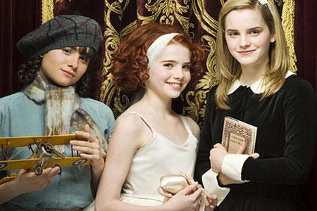 Emma Watson, Yasmin Page, Lucy Boynton