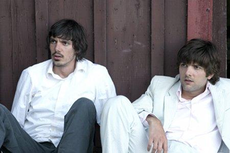 Lukas Haas ja Adam Scott olivat kuin veljet.