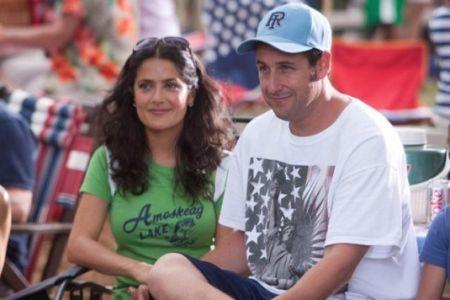 Salma Hayek & Adam Sandler