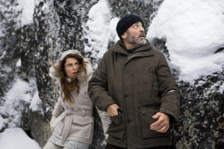Irina Björklund ja George Clooney