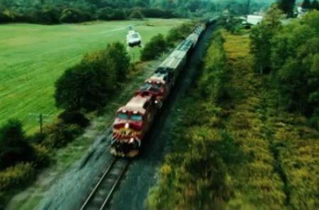 Pysäyttämätön juna