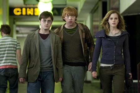 Daniel Radcliffe, Rupert Grint ja Emma Watson