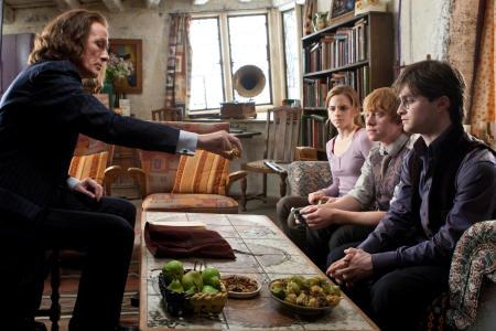 Bill Nighy, Emma Watson, Rupert Grint ja Daniel Radcliffe