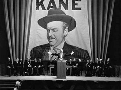 © 1941 Mercury Productions ja RKO Radio Pictures Inc. (elokuvasta Kansalainen Kane)
