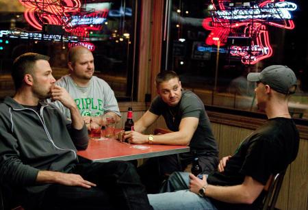 Ben Affleck,Slaine, Jeremy Renner ja Owen Burke