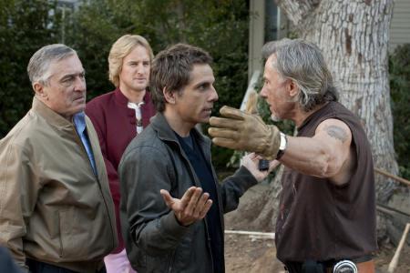 Robert De Niro, Owen Wilson, Ben Stiller ja Harvey Keitel