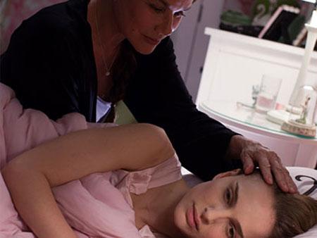 Barbara Hershey ja Natalie Portman