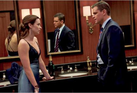 Emily Blunt ja Matt Damon