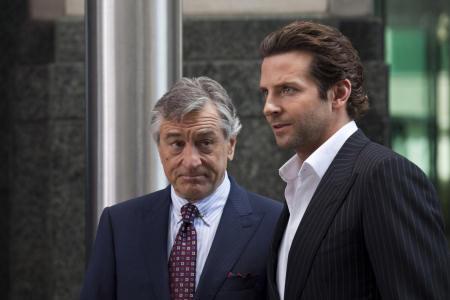 Robert De Niro ja Bradley Cooper