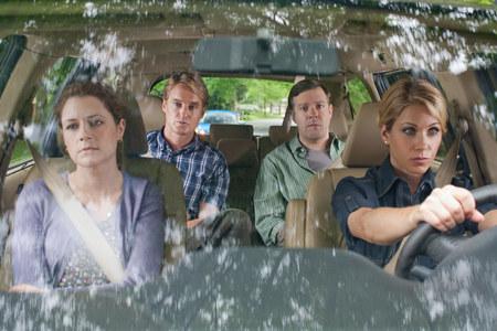 Jenna Fischer, Owen Wilson, Jason Sudeikis ja Christina Applegate