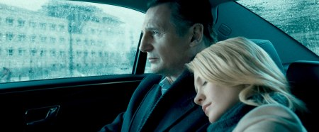 Liam Neeson ja January Jones