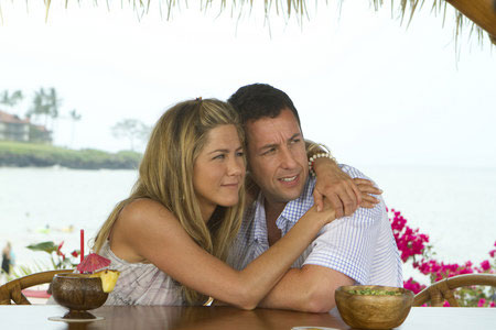 Jennifer Aniston ja Adam Sandler Havaijilla