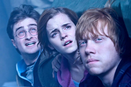 Daniel Radcliffe, Emma Watson ja Rupert Grint