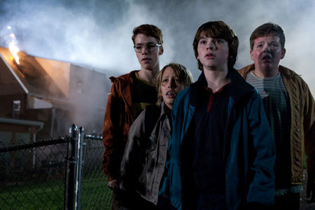 Ryan Lee, Joel Courtney, Gabriel Basso ja Riley Griffiths