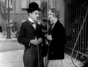 Charlie Chaplin ja Virginia Cherrill