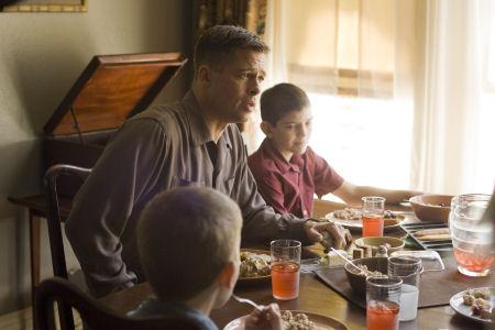 Brad Pitt ja Hunter McCracken