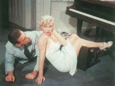 Tommy Ewell ja Marilyn Monroe
